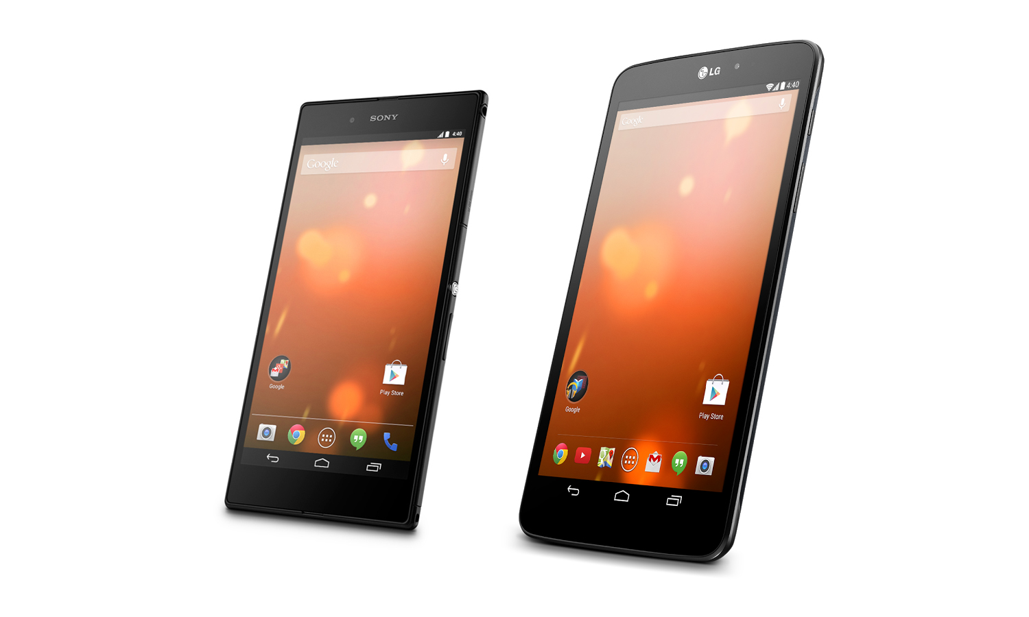 Sony Xperia Z Ultra LG G Pad 8.3 Google Play Edition