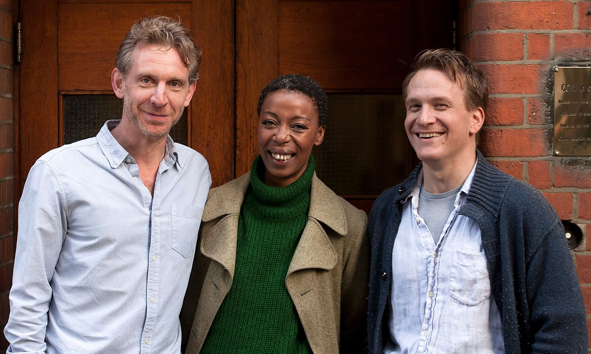 Paul Thornley, Noma Dumezweni and Jamie Parker que interpretarão Ron, Hermione e Harry em Harry Potter e a Criança Amaldiçoada/Foto: Handout/PA